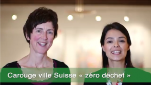 "Dorinda Phillips and Leticia Regueiro for the project ""Carouge - Zero Waste town"""