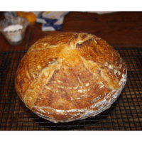 Easy recipe to make your own sourdough bread!
